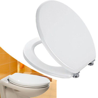 Cover Wc Universal Seat Wood White Toilet Seat Water Tablet Bathroom