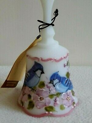 Fenton LOUISE PIPER Blue Jay Bell