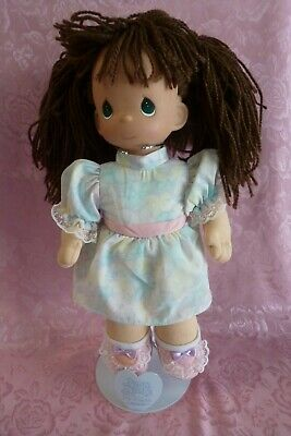 """2000 Stuffed Precious Moments Doll Vinyl Head Made in China 12"""" w/o Stand"""