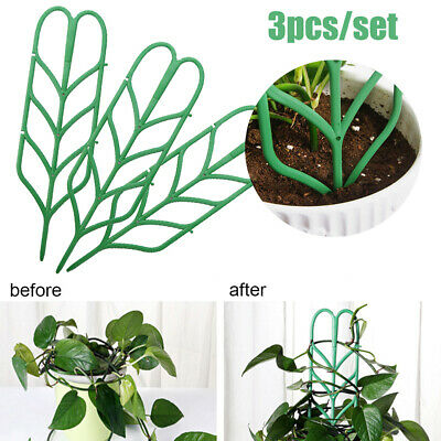 3Pcs/Set DIY Plant Support Stand Artificial Climbing Flower Potting Racks Frame