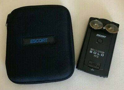 ESCORT CORDLESS SOLO S3 RADAR /  LASER DETECTOR with TRAVEL CASE