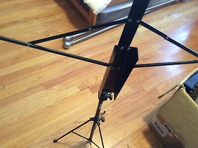 On Stage Stands SM7122BB OSS SM 7122 Folding Music Stand