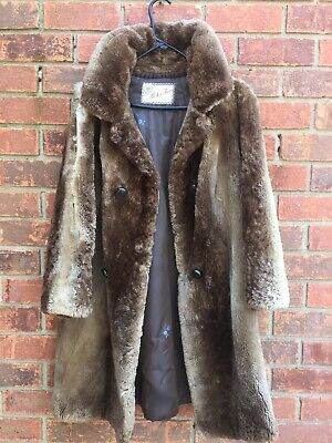 real fur coat long waistcoat finnraccoon tanuki without lining craftcutter Clothes, Shoes & Accessories