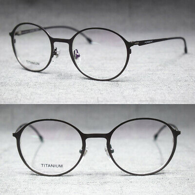 d1042b5dc08e8 Vintage Oval Round Full Rim Spring Hinges Eyeglass Frames Rx able Glasses