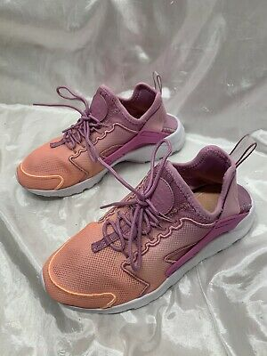 uk availability 655e6 ef86a NIKE Women s Air Huarache Run Ultra BR Orchid Pink Sunset 833292-501 Ombre  7.5