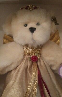 Mint With Tag And Crystal Angel Mini Bear Annette Funicello White Angel Bear Bears Annette Funicello