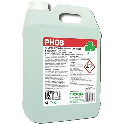 Clover Phos Food Plant Descaler 5L