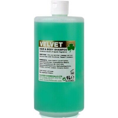 Clover Velvet Hair and Body Shampoo 1L