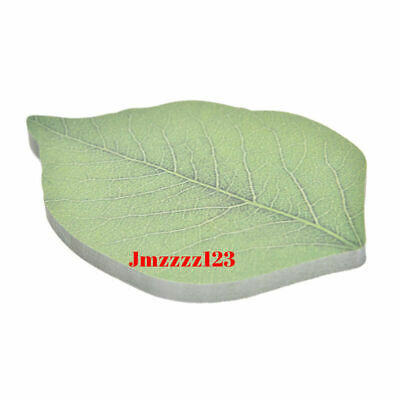 50 Sticky Notes Memo Pad Exquisite Leaf Leaves Note Message leaves post Sticker