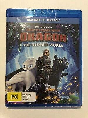 How To Train Your Dragon The Hidden World Blu-Ray Brand New & Sealed Rated PG