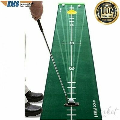 Golf Goods Putter mat Practice mat Line remains Sports putting from JAPAN