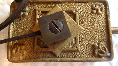 Antique Clock Chimes - Gong for Mantle Clock. Adjustable Restoration - Spares.
