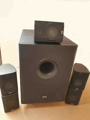 Elac Cinema 1 5.1 Subwoofer Home Surround Sound Speaker Setup Used Free UK Ship
