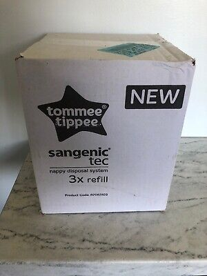 Tommee Tippee Sangenic Tec 3 X Refill