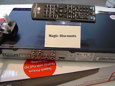 LG DP542H ALL REGION DVD player Multi region ready out of box Multi Format NEW