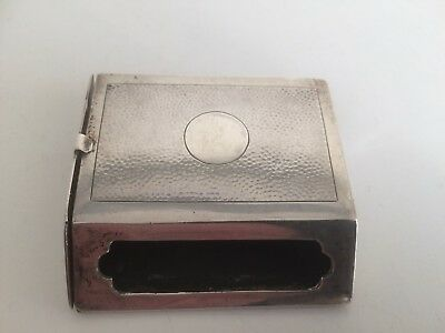 Antique Chinese Silver Vesta Case by Wang Hing