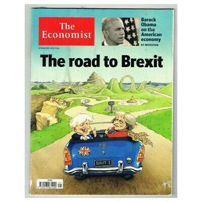 The Economist Magazine October 8-14 2016 MBox3596/I The road to Brexit