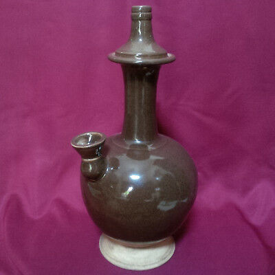 Old and Antique Chinese Tang/Song Teadust Glazed Kundika Ewer