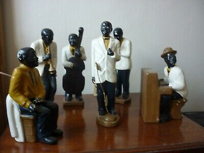 art deco - ceramic jazz band
