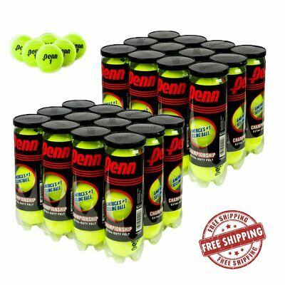 Penn Championship Extra Duty Tennis Balls Best USTA 2 Cases 72 Balls 24 Cans XD