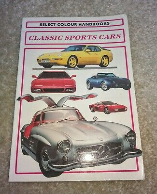 Classic Sports Cars Guide in Paperback by Select Colour Handbooks