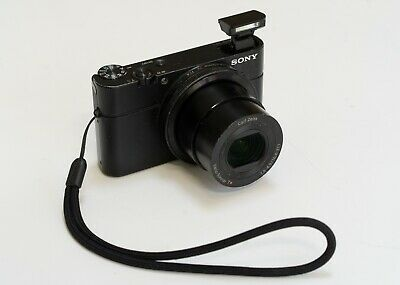 Sony Cyber-shot RX100 20.2 MP Digital Camera - extra battery and 16GB SD card