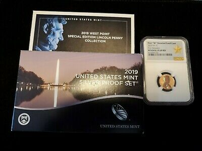 2019 US Silver Proof Coin Set 19RH in hand no extra cent