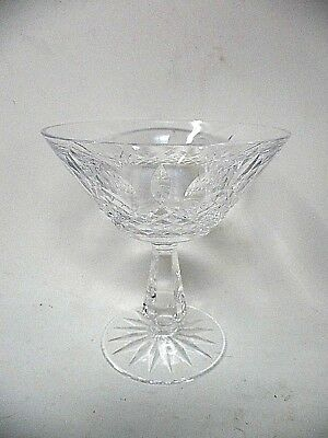 """Waterford Crystal """"Kenmare"""" Champagne Sherbet Glass 4 3/4"""" High - Many Available"""