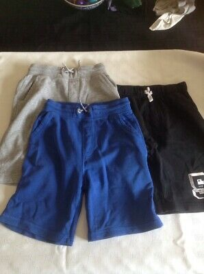 3 Pairs Of Boys Shorts Age 9-10 Years