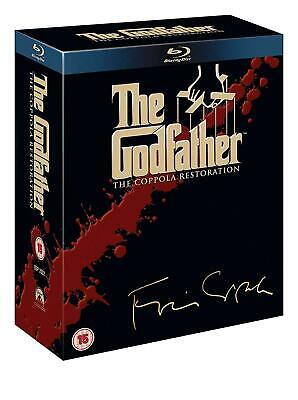 The Godfather Trilogy Coppola Restoration Edition (1972) - Region Free
