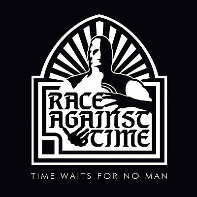RACE AGAINST TIME - Time Waits For No Man (NEW*LIM.300 BLACK VINYL*NWOBHM CLASS.
