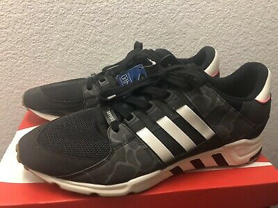 ADIDAS EQT SUPPORT RF BB1324 CORE BLACK OFF WHITE SZ 7 13 DS