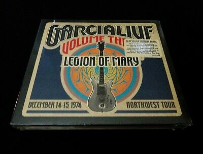 Jerry Garcia Live Volume Three 3 Legion Of Mary 1974 Oregon 3 CD Grateful Dead