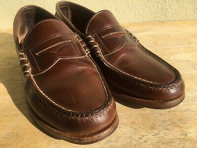 e0c4533a7b Rancourt Handmade USA Beefroll Penny Loafers Chromexcel 10 D Natural  Horween CXL
