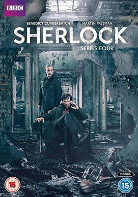 Sherlock - Complete Series 4 [Region 2 Dvd] New & Sealed With Slipcover