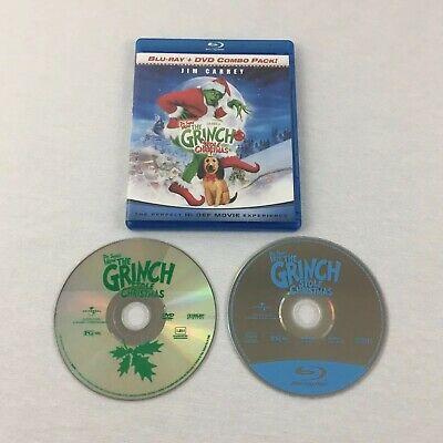 How the Grinch Stole Christmas (Blu-ray/DVD, 2009) Jim Carrey Tested VG