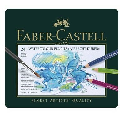 Faber Castell Watercolour Albrecht Dürer 24 Pencil Tin FC117524