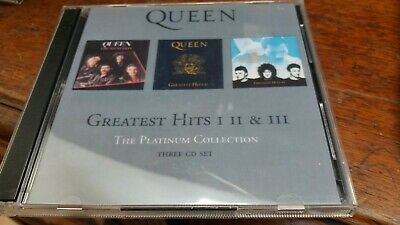 Queen - The Platinum Collection, Greatest hits Vol. 1-3, 3 CD set, 2000, VGC