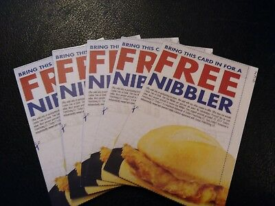 (5) Zaxby's FREE  Nibbler Voucher, NO EXPIRATION, Shipping 1 Business Day