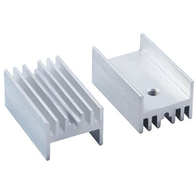 5pcs 25*15*11mm Anodized Aluminium Heat Sink For Power Transistor /TO-126/TO-220