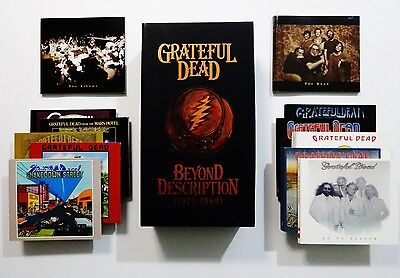 Grateful Dead Beyond Description Box Set 1973 1989 12 CD with 68 Bonus Tracks !