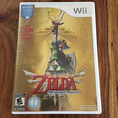 The Legend of Zelda: Skyward Sword - Nintendo Wii + Soundtrack Complete CIB