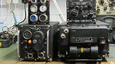 Military RAF Transmitter/Receiver Radio  -  PTR175 with ancillaries