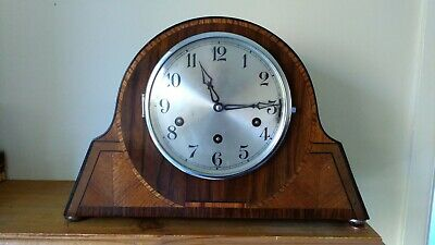 Art Deco GUFA Westminster Whittington St Michael's Chiming Mantel Clock