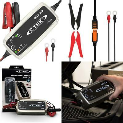 Ctek Mxs 7.0 Fully Automatic Battery Charger (Charges, Maintains And Recondition