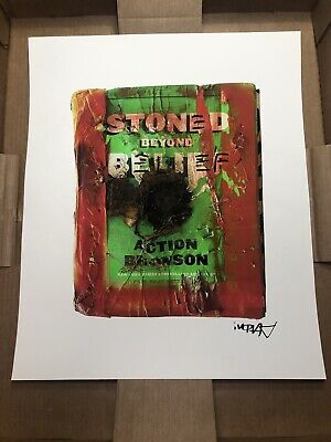 Action Bronson Rare Print Stoned Beyond Belief