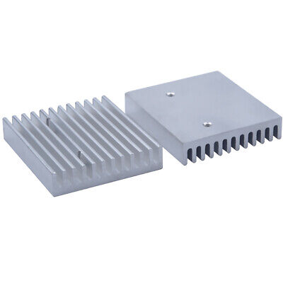 50*45*10mm Anodized Aluminium Heat Sink For Power Transistor/TO-126/TO-220/CPU