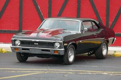 1972 Nova -SS396 BIG BLOCK-AFFORDABLE MUSCLE CAR- 1972 Chevrolet Nova, Black with 87,618 Miles available now!