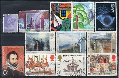 GB small selection of Very Fine Used Commemoratives (a)