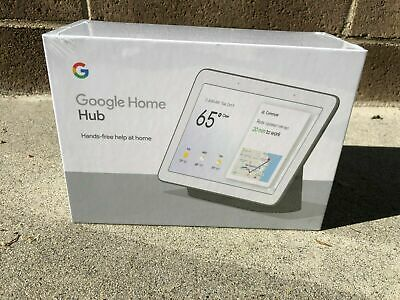 "(NEW & SEALED) Google Home Hub with Google Assistant 7"" - Charcoal GA00515-US"